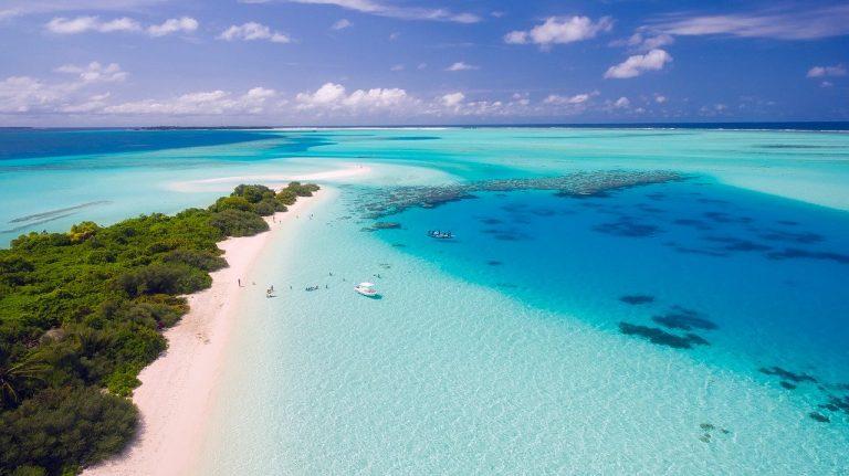 Les Maldives sont un pays tropical de l'océan Indien
